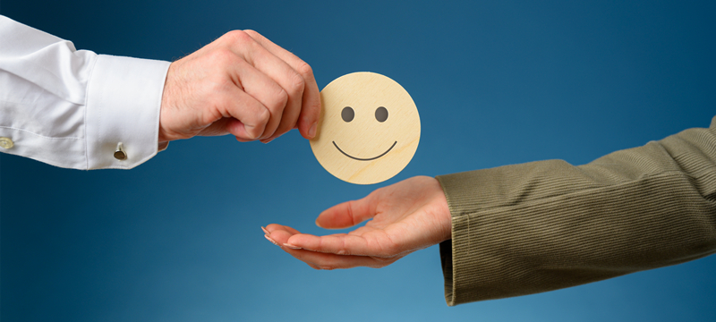 customer satisfaction smile